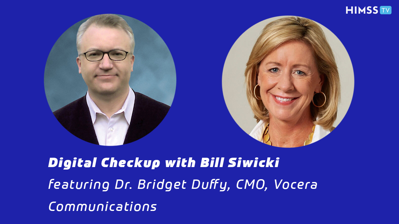 Dr. Bridget Duffy and Bill Siwiki