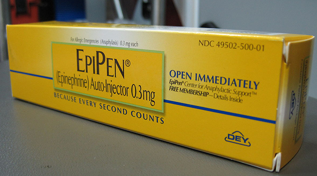 EMS crews in New York State drop EpiPen in lieu of lower-cost option