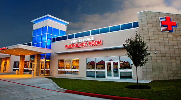 What equipment is standard in most emergency rooms?