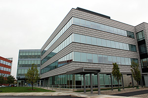 Jefferson's multi-speciality center at the Philadelphia Navy Yard corporate park, opened in 2012