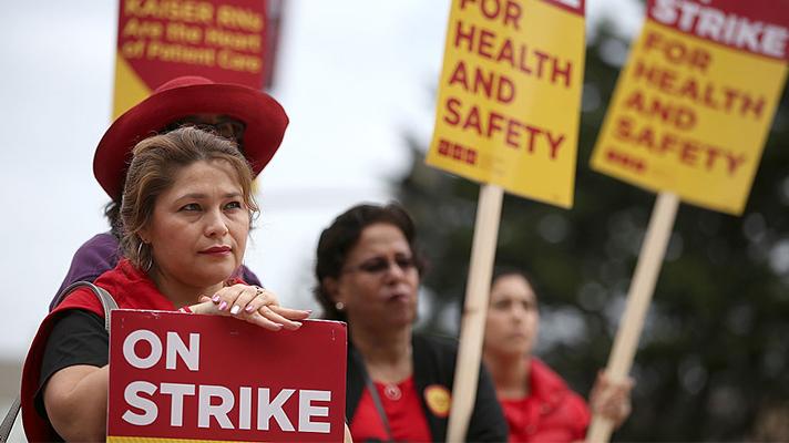 Hospitals in Rhode Island brace for surge as nurses begin strike