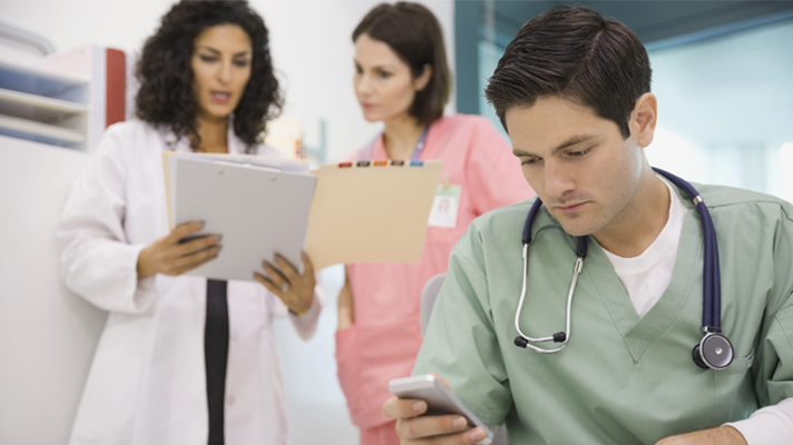 82% of physicians blame burnout on interruptions from tech tools