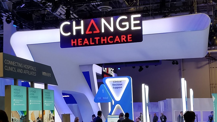 Change Healthcare HIMSS18 booth