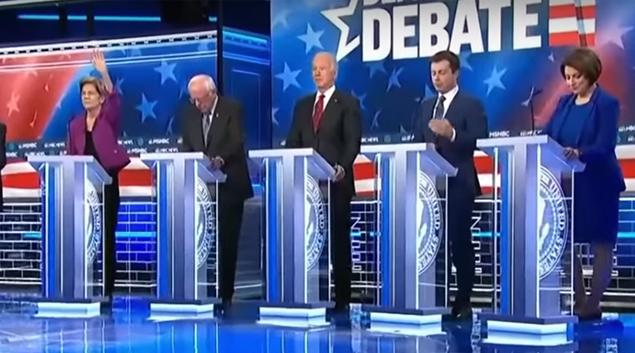 Democrats debate healthcare reform