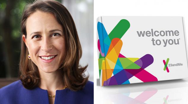 23andMe is led by CEO Anne Wojcicki.