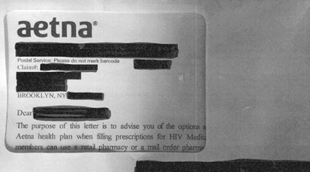 Aetna to pay $17M over mailing that revealed HIV meds
