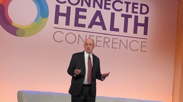Dr. Andrew Gettinger, chief clinical officer for the ONC, spoke about patient data and the future of interoperability during Connected Health.