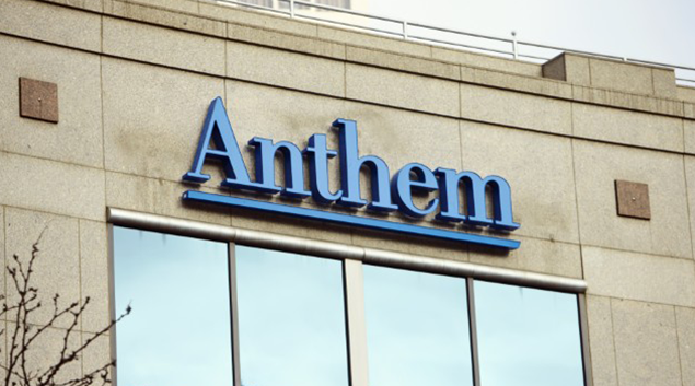 USA health insurer Anthem's quarterly profit rises 44 pct