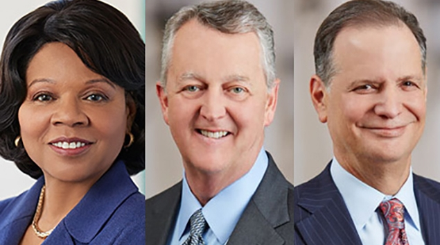 Pat Maryland, John Doyle and David Pryor are leaving Ascension.