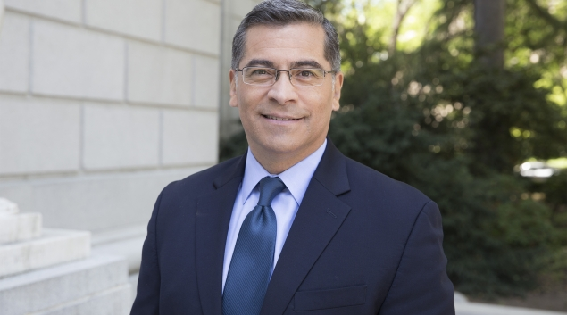 California AG Xavier Becerra (Photo courtesy Build Back Better)