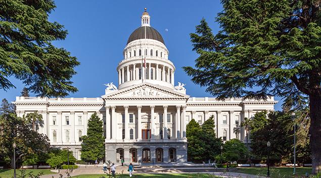 Capitol Building, Sacramento.