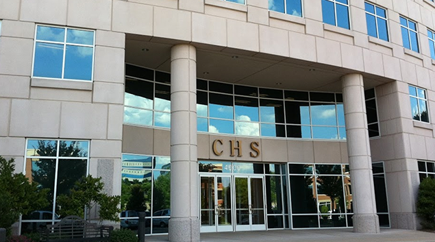 CHS headquarters at 4000 Meridian Blvd. in Franklin, Tennessee.