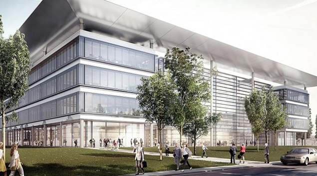 """Rendering of joint medical campus courtesy of <a href=""""https://giving.clevelandclinic.org/articles/digging-deeper-education""""> Cleveland Clinic </a>"""