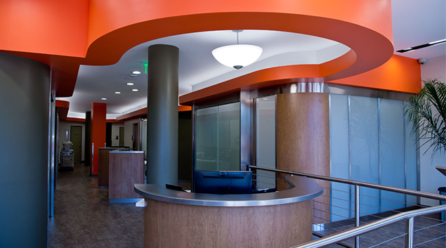 Interior of new Dignity Health-GoHealth Urgent Care Castro Center (handout)
