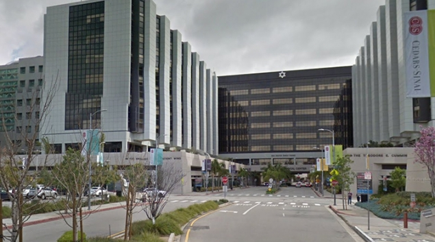 Winning hospital Cedars - Sinai Medical Center - Credit: Google Street View