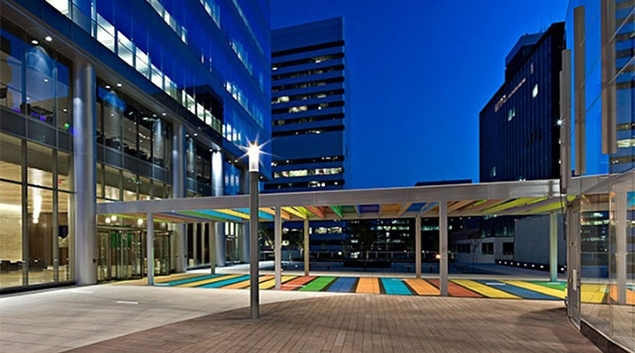 Centene's corporate headquarters.