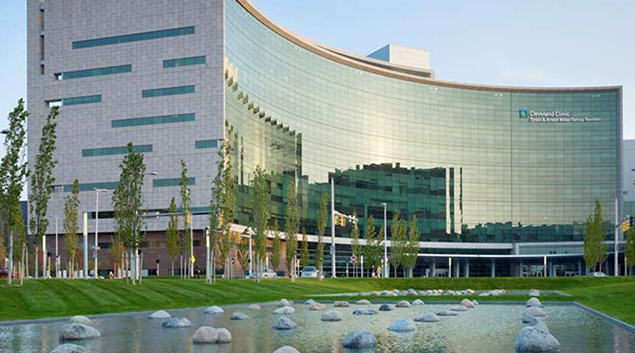 """Cleveland Clinic Main Campus. Credit:<a href=""""http://jobs.clevelandclinic.org/main-campus.html"""" target=""""_blank"""">Cleveland Clinic</a>"""