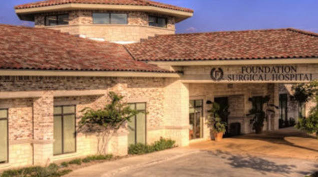 "Foundation Surgical Hospital of San Antonio. Photo by <a href=""http://fdnh.com/""> Foundation HeatlhCare </a>"