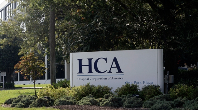 HCA Headquarters in Nashville. Credit: Rusty Russell/Getty Images
