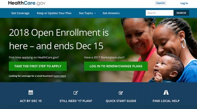 Credit: healthcare.gov