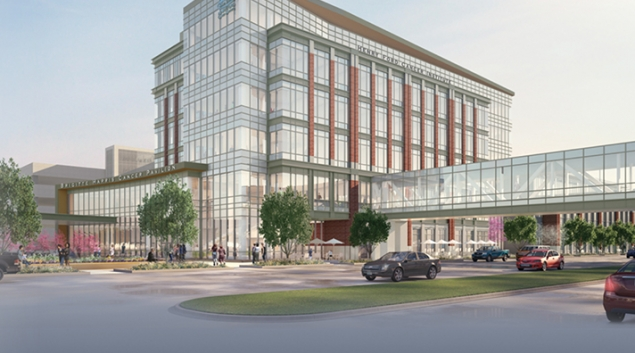 The new pancreatic cancer center will be part of the Brigette Harris Cancer Pavilion, slated to open in 2020. - Credit: Henry Ford Health