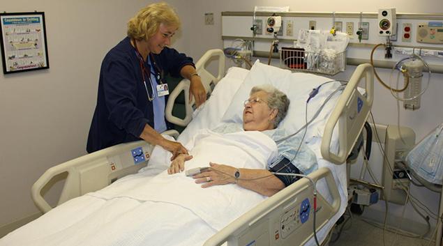"ICU photo by <a href=""https://www.fairfieldmemorial.org/intensive-care-unit-icu""> Fairfield Memorial Hospital </a>"