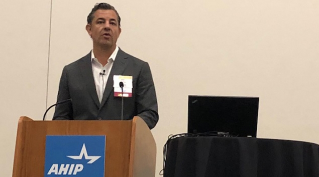 Jeff Surges, President & CEO Connecture, speaking at recent AHIP session.