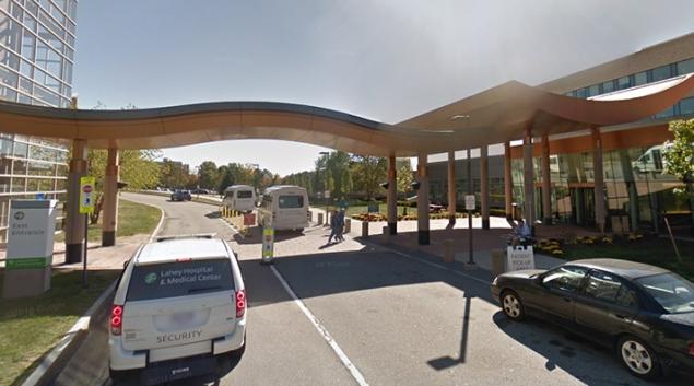 Lahey Hospital. Credit: Google Street View