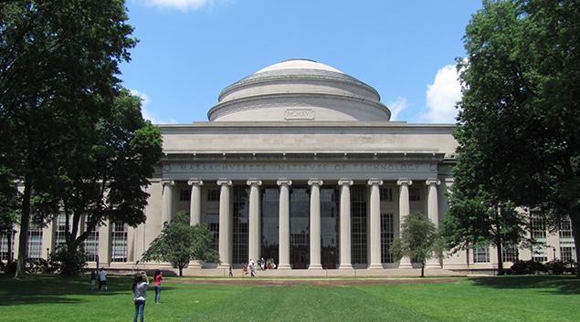 "MIT's Great Dome in Cambridge, Massachusetts. Photo courtesy <a href=""https://en.wikipedia.org/wiki/Massachusetts_Institute_of_Technology#/media/File:MIT_Building_10_and_the_Great_Dome,_Cambridge_MA.jpg""> John Phelan </a>"