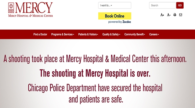 Mercy Hospital shooting claims lives of four, including one