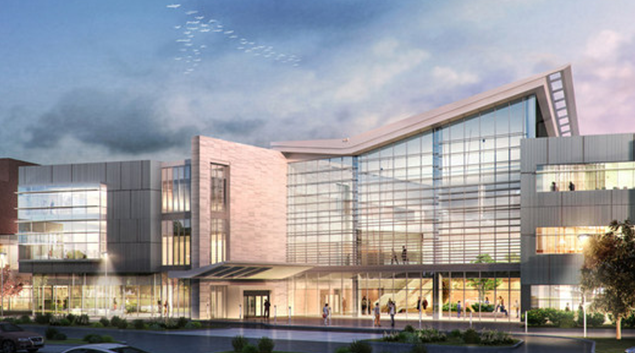 Rendering of expansion project(handout)