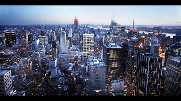 """New York City skyline image from <a href=""""https://www.flickr.com/photos/76771463@N02/13944692233"""">Flickr</a>."""