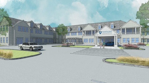 A rendering of the new Hospital. Credit: Nantucket Cottage Hospital
