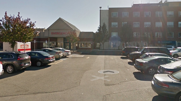 North Shore Medical Center in Salem, one of the hardest hit. Credit: Google Street View