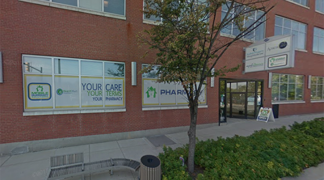 Onco360 Pharmacy's storefront in Buffalo, New York. Credit: Google Maps