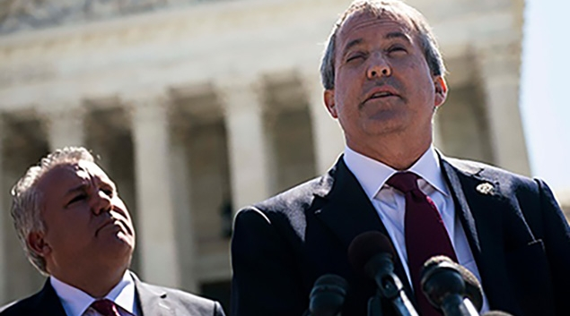 Texas Attorney General Ken Paxton is among Republicans arguing against the constitutionality of the ACA.