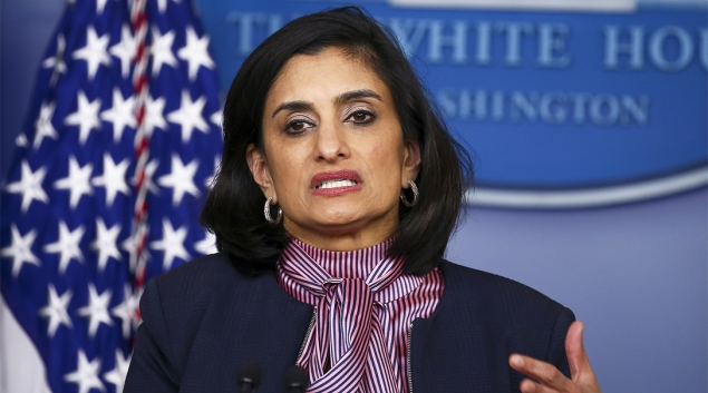 CMS Administrator Seema Verma announced compliance requirements Monday. (Getty Editorial Photo by Tasos Katopodis)