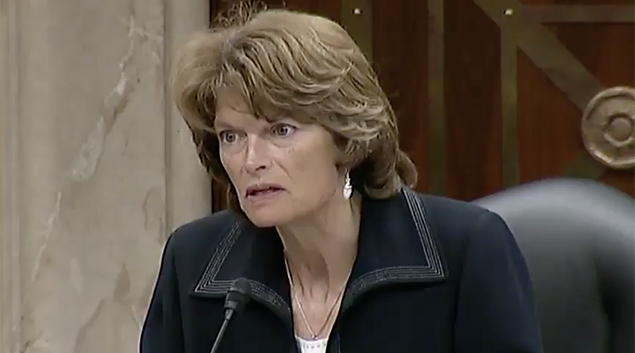 "Sen. Lisa Murkowski‏ (R-Alaska). <a href=""https://twitter.com/lisamurkowski/status/885274302760747008"" target=""_blank"">Photo via Twitter</a>"