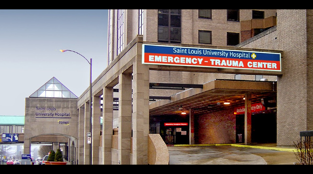 "Photo of St Louis University Hospital from <a href=""https://plus.google.com/+SaintLouisUniversityHospital/about"">Google Plus</a>"