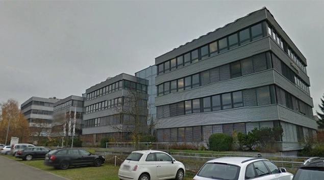 Swisslog headquarters in Buchs, Switzerland (Google Earth)