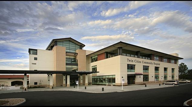 Tenet's Twin Cities Community Hospital, Templeton, Calif., Courtesy tenethealth.com