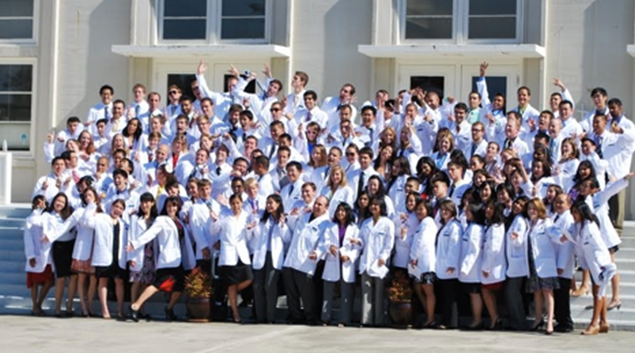 """Touro University medical students-Photo courtesy <a href=""""http://www.tustudentlife.com/clubs/com2014/about/""""> Touro University </a>"""