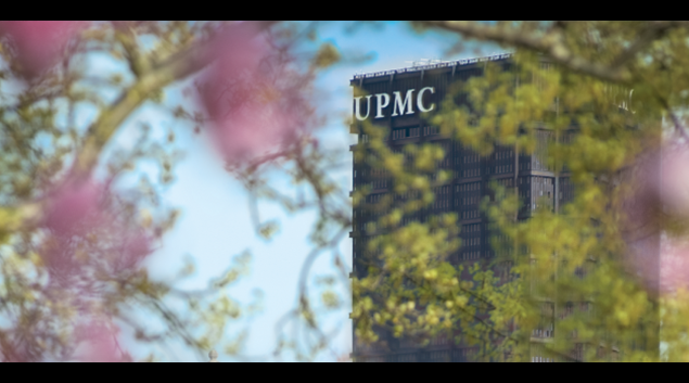 """Photo of UMPC Administrative Headquarters in Pittsburgh, PA from <a href=""""https://www.facebook.com/upmc"""">Facebook</a>"""