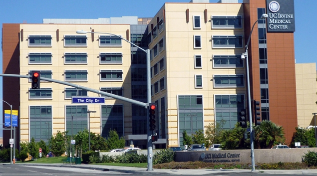 "Credit: <a href=""https://commons.wikimedia.org/wiki/File:Ucirvinemedicalcenter.jpg"">Coolcaesar</a>."