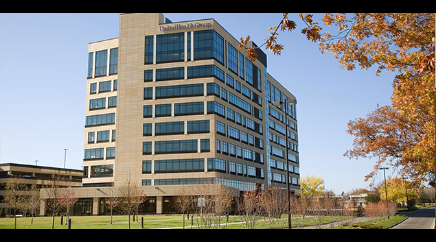 """Photo of UnitedHealth Group Corporate Headquarters from <a href=""""https://www.facebook.com/pages/UnitedHealth-Group/144218332276139"""">Facebook</a>"""