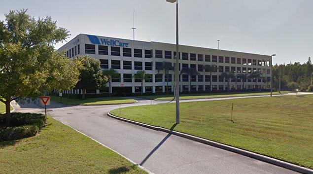 WellCare headquarters-Tamp, FL. Photo via Google.