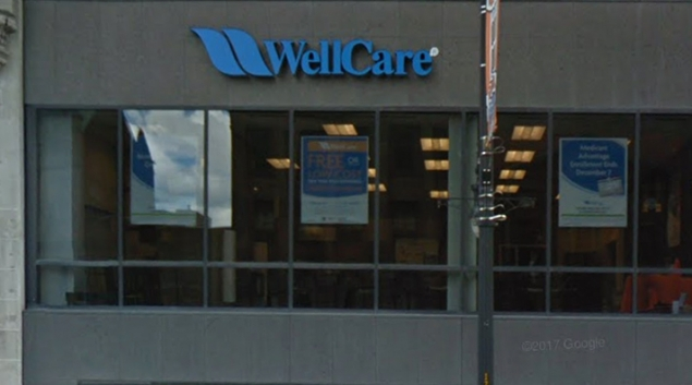 WellCare office in Albany, NY. Credit: Google Street View