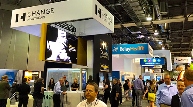 Change Healthcare and Relay Health displayed new products at the 2016 HFMA Annual National Institute in Las Vegas. (Photo: Henry Powderly)