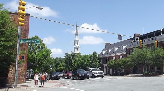 Chapel Hill, North Carolina.