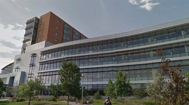 Children's Hospital Colorado in Aurora (Google Earth)